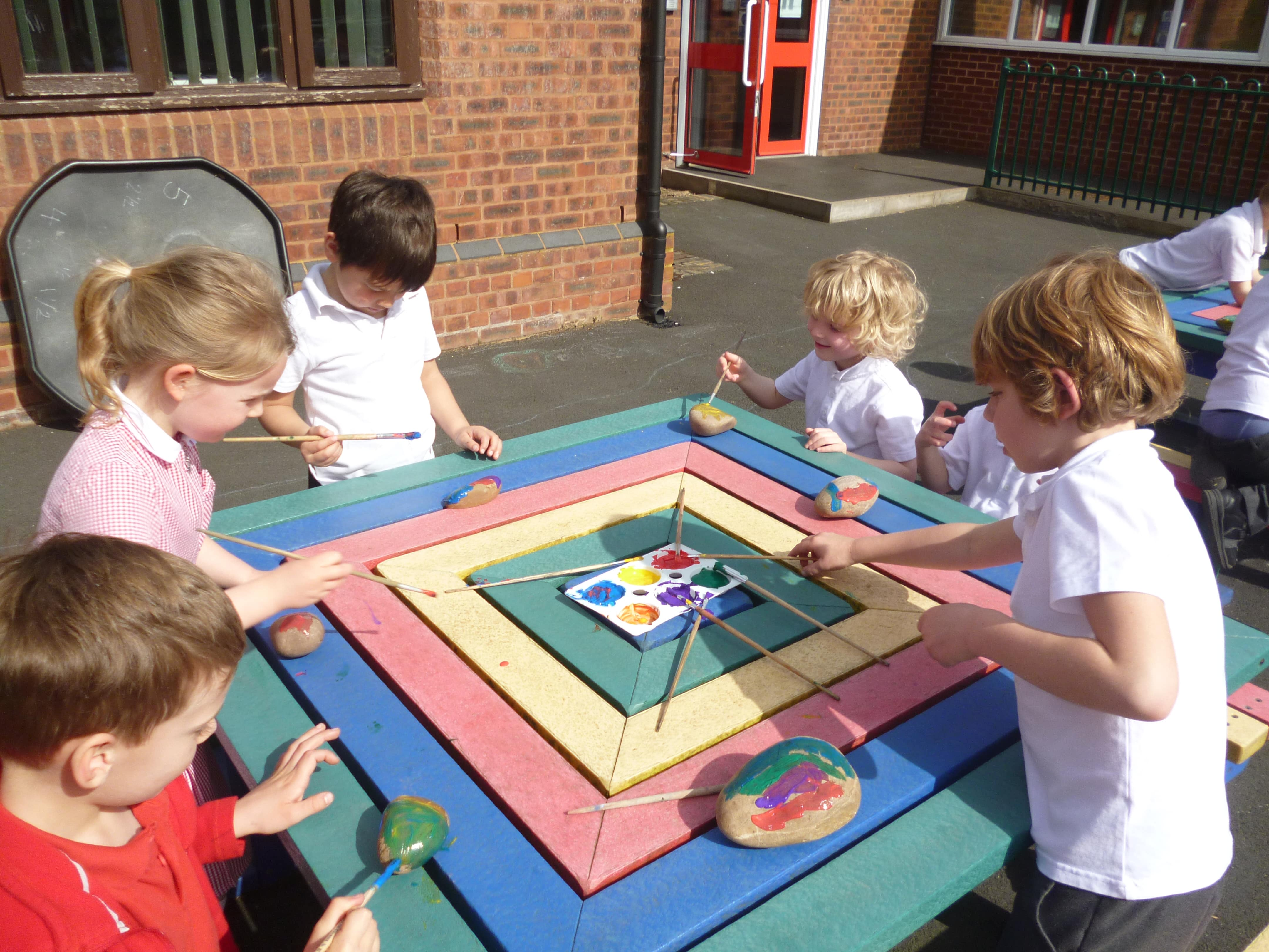 Year 2 pupils at the Richard Clarke First school