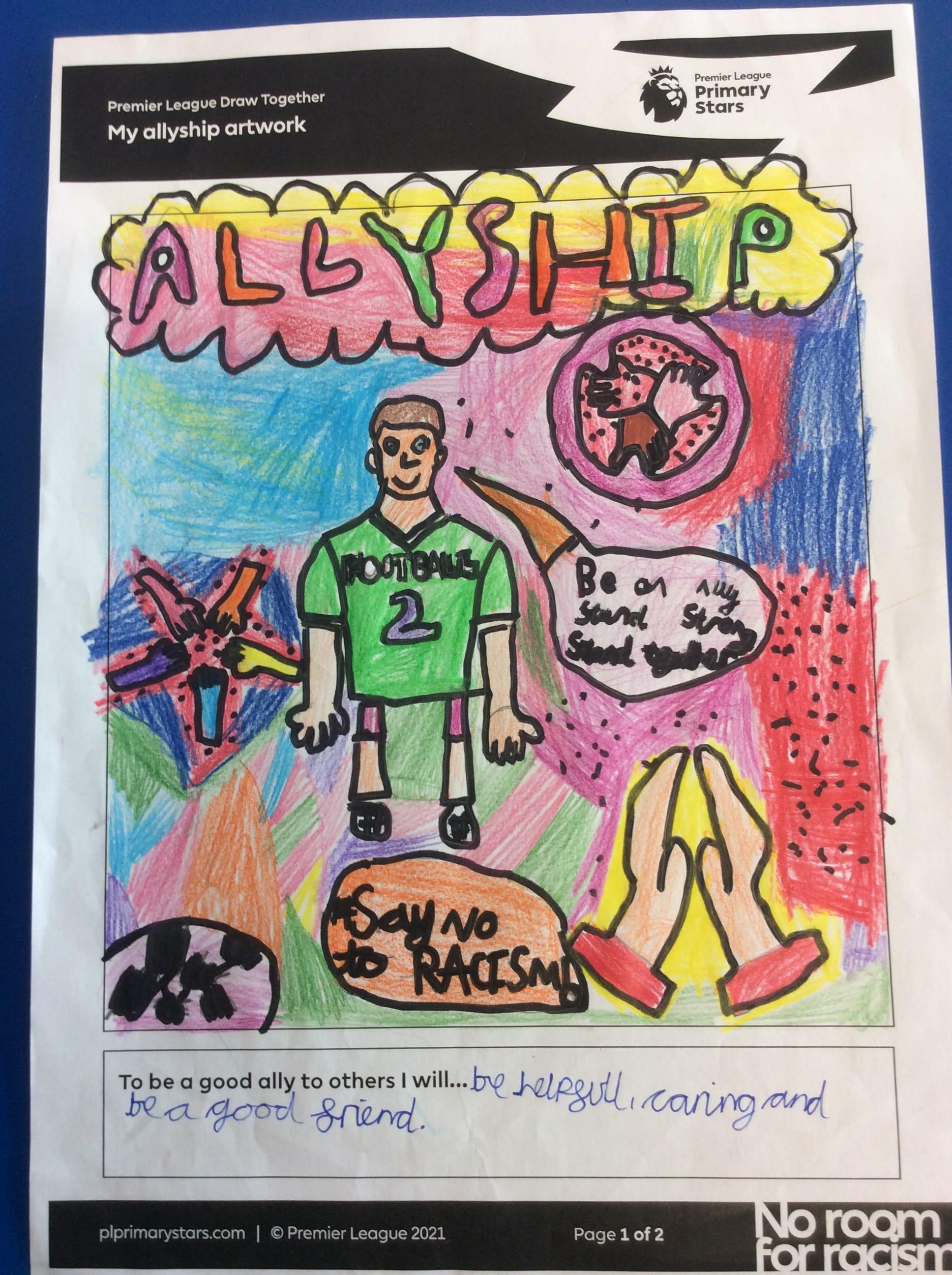 Hannah allyship artwork