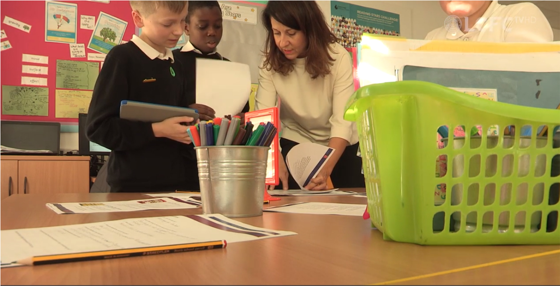 Liz Kendall MP visits Forest Lodge Community Primary School in Leicester
