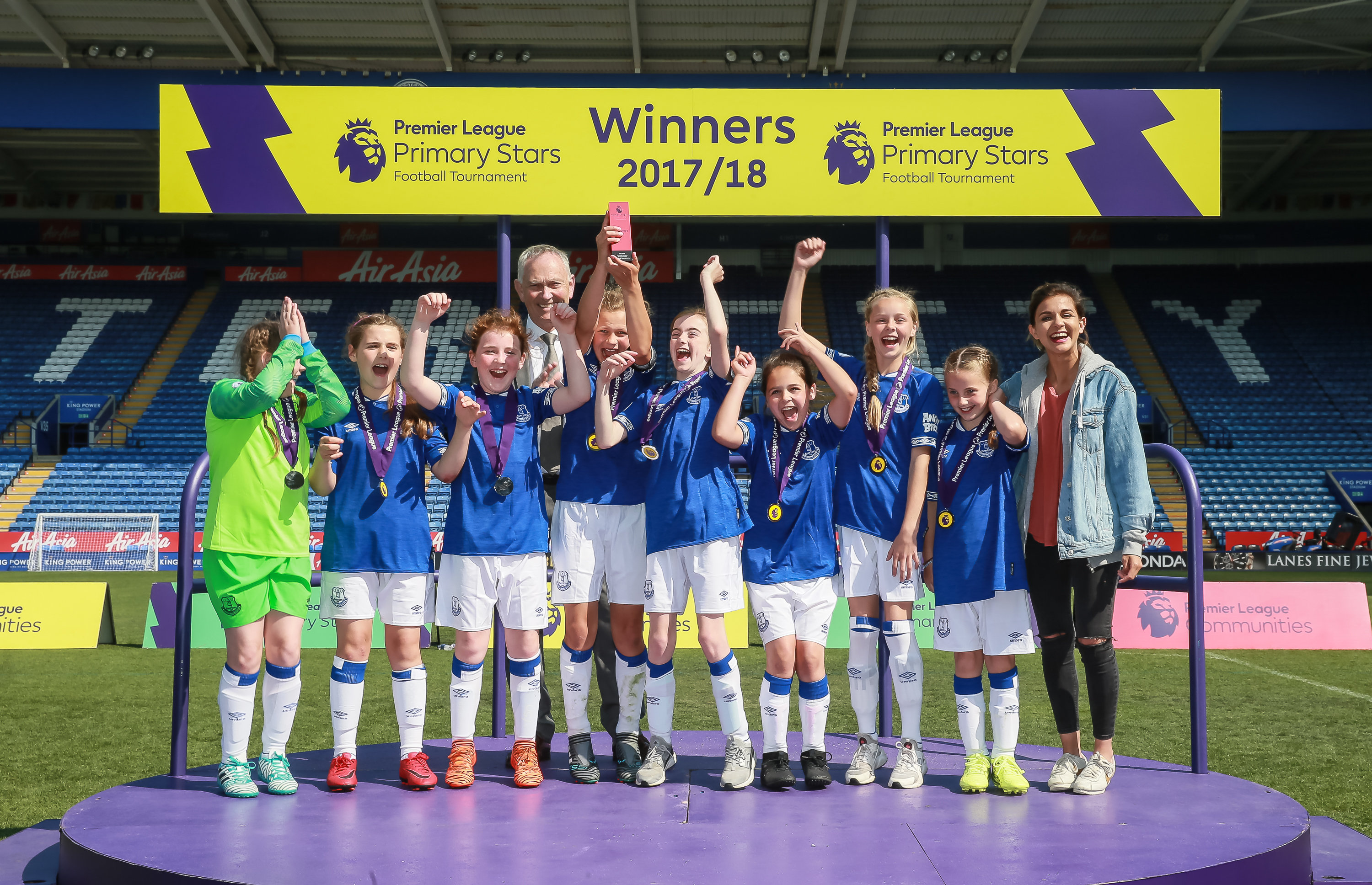 PL Primary Stars Football Tournament U11 Girls winners 2018
