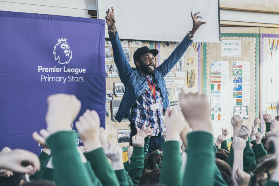 The Premier League Writing Stars poetry challenge