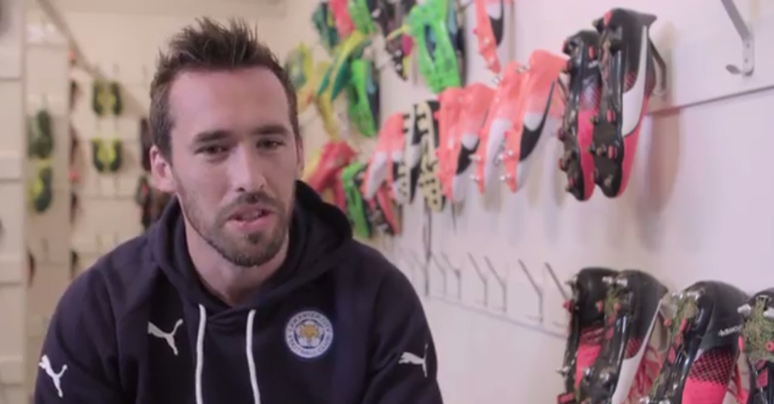 Christian Fuchs of Leicester City